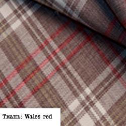 Ткань: Wales red