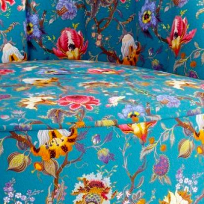 Цветные принты мебели KREIND