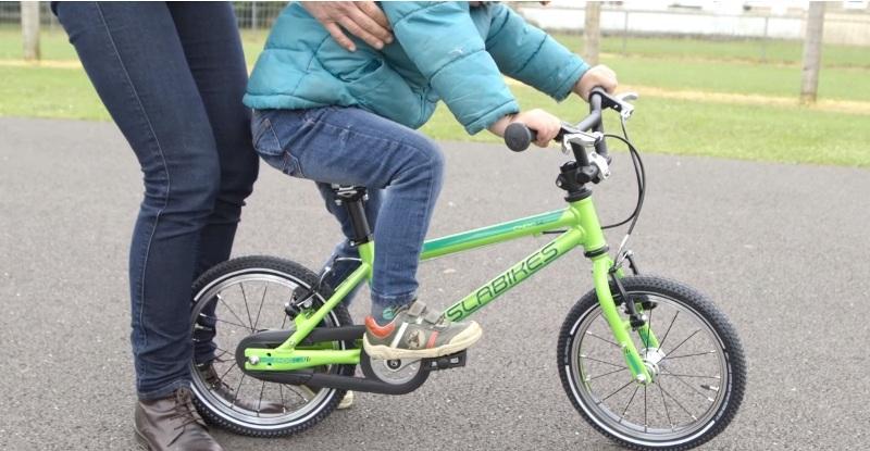 Правильное положение педали велосипеда при начале движения