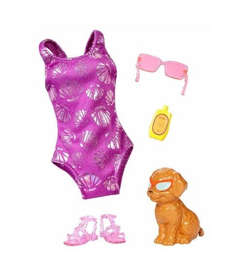 Одежда для куклы Barbie - Тропический пляж