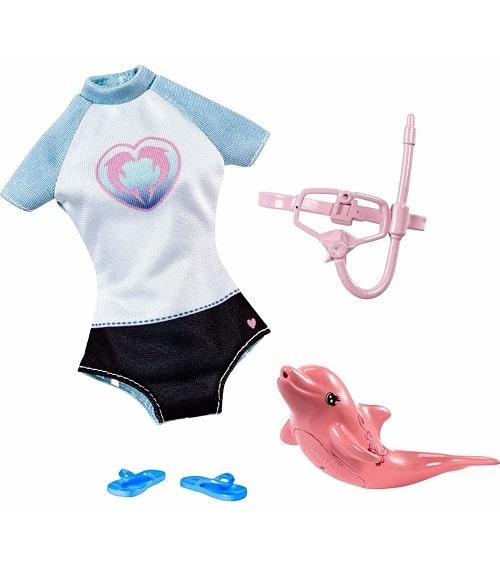 """Одежда для куклы Barbie """"Дельфинарий"""""""