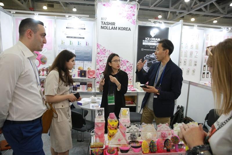 Выставка корейской косметики