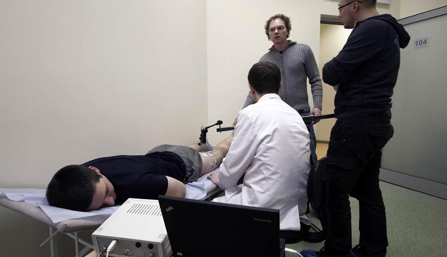 Диагностика мышц в ЦФР