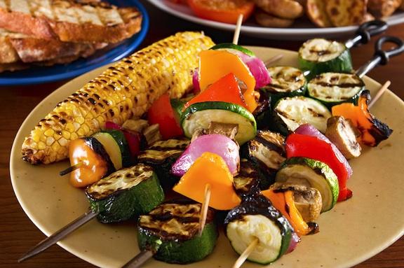 Блюда на гриле для здорового питания