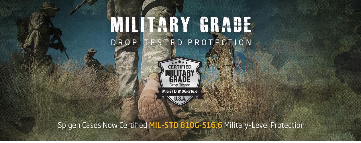 Противоударные накладки с защитным экраном выполненные по стандартам военного класса MIL-STD 810G-516.6. Case Tough Armor FX Sgp Spigen для iPhone 6 / 6S.