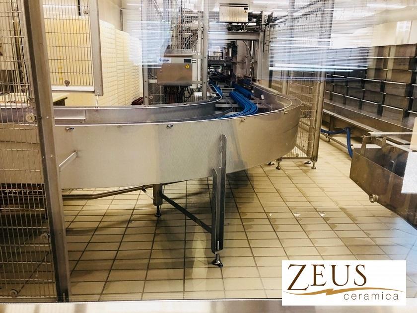 Пол для молочной промышленности