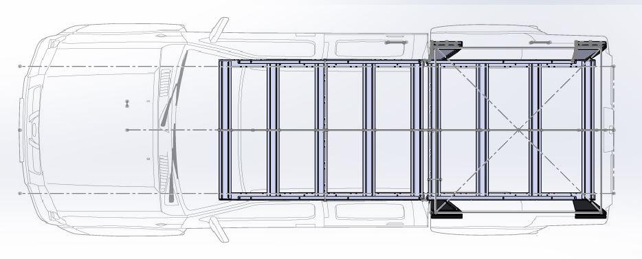 багажник на ниссан пикап
