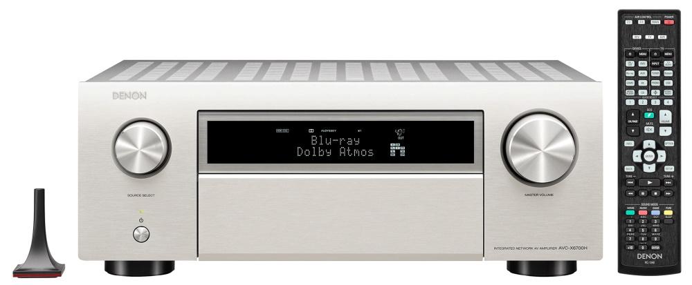 АВ ресивер Denon AVR-X6700H комплект