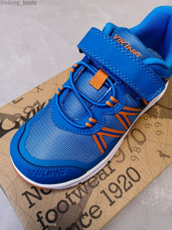 Кроссовки Viking Holmen Blue/Orange купить в интернет-магазине Viking-Boots можно с доставкой в любой регион России