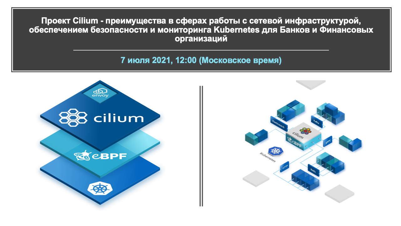 Cilium for financial and banking sectors