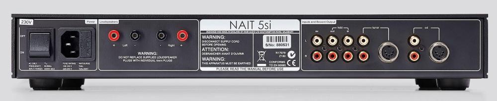 Интегральный усилитель Naim NAIT 5si
