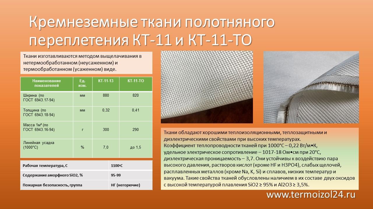 КТ-11 полотняное переплетение