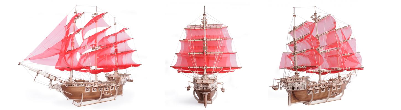 Механическая модель из дерева - Кабриолет Мечты от Ugears.jpg