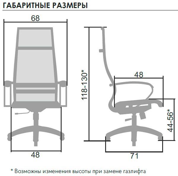 ГАБАРИТНЫЕ РАЗМЕРЫ SK-1-BK комплект 7
