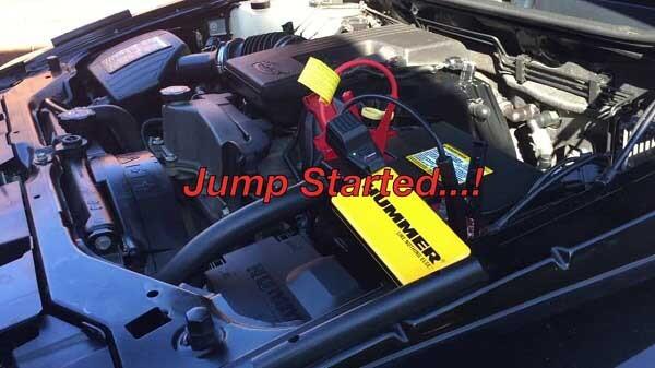 Пусковое устройство Hummer H3 для запуска двигателя автомобиля