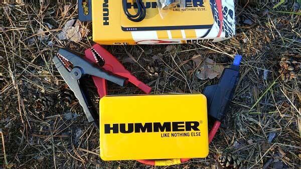 Комплектация пускового устройства для аккумулятора авто Hummer H3