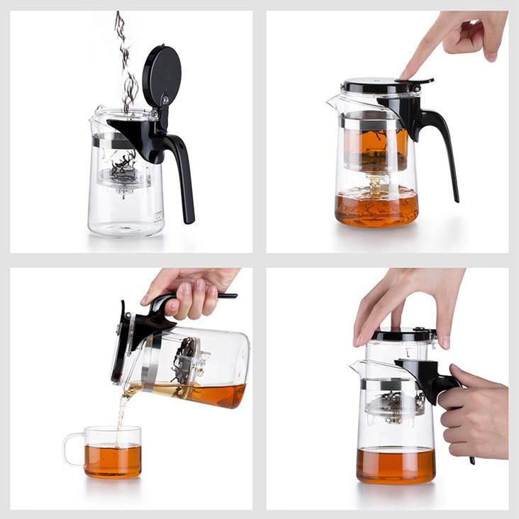 Как заваривать чай в гунфу чайнике