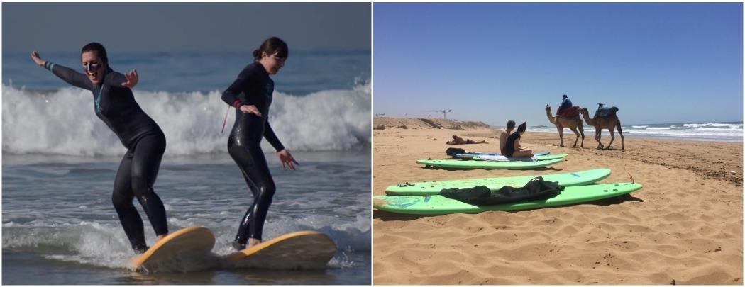 Уроки серфинга в Марокко Тагазуте