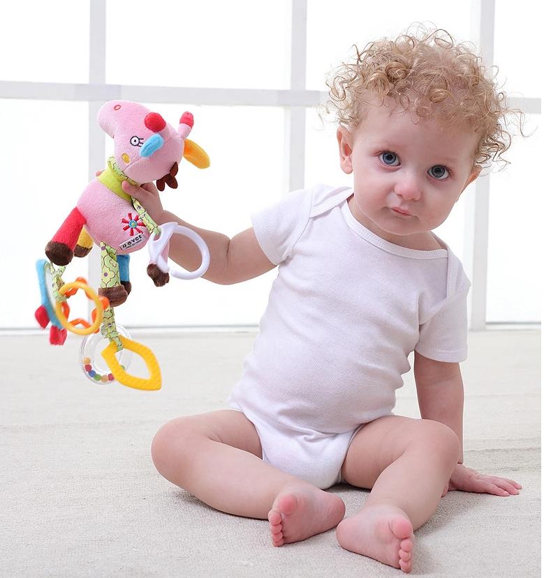 """Развивающая игрушка  """"Любимая лошадка"""" с прорезывателем Babybuzz"""