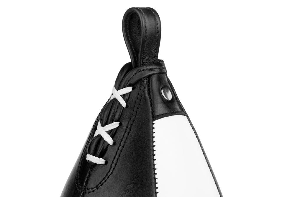 Пневматическая груша Dozen Absolute черно-белая фиксация и шнуровка