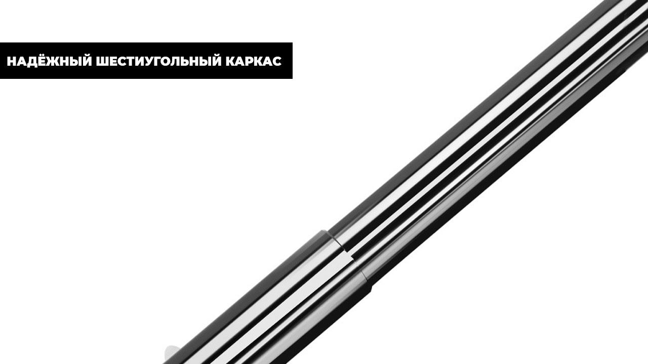 Складной зонт автомат графитово-белый   Schulz design