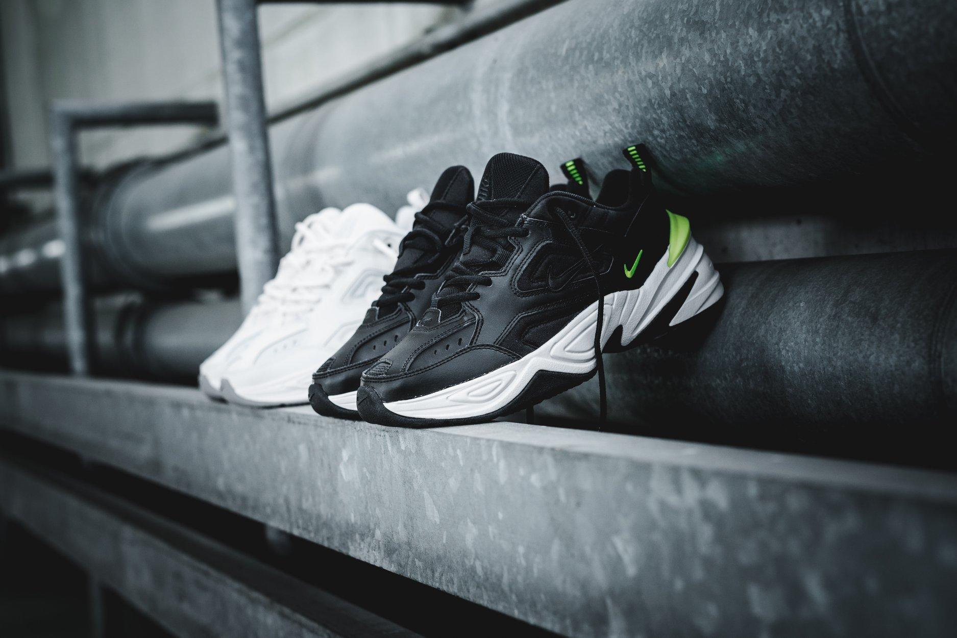 Nike M2K Tekno Черно-белые и белые