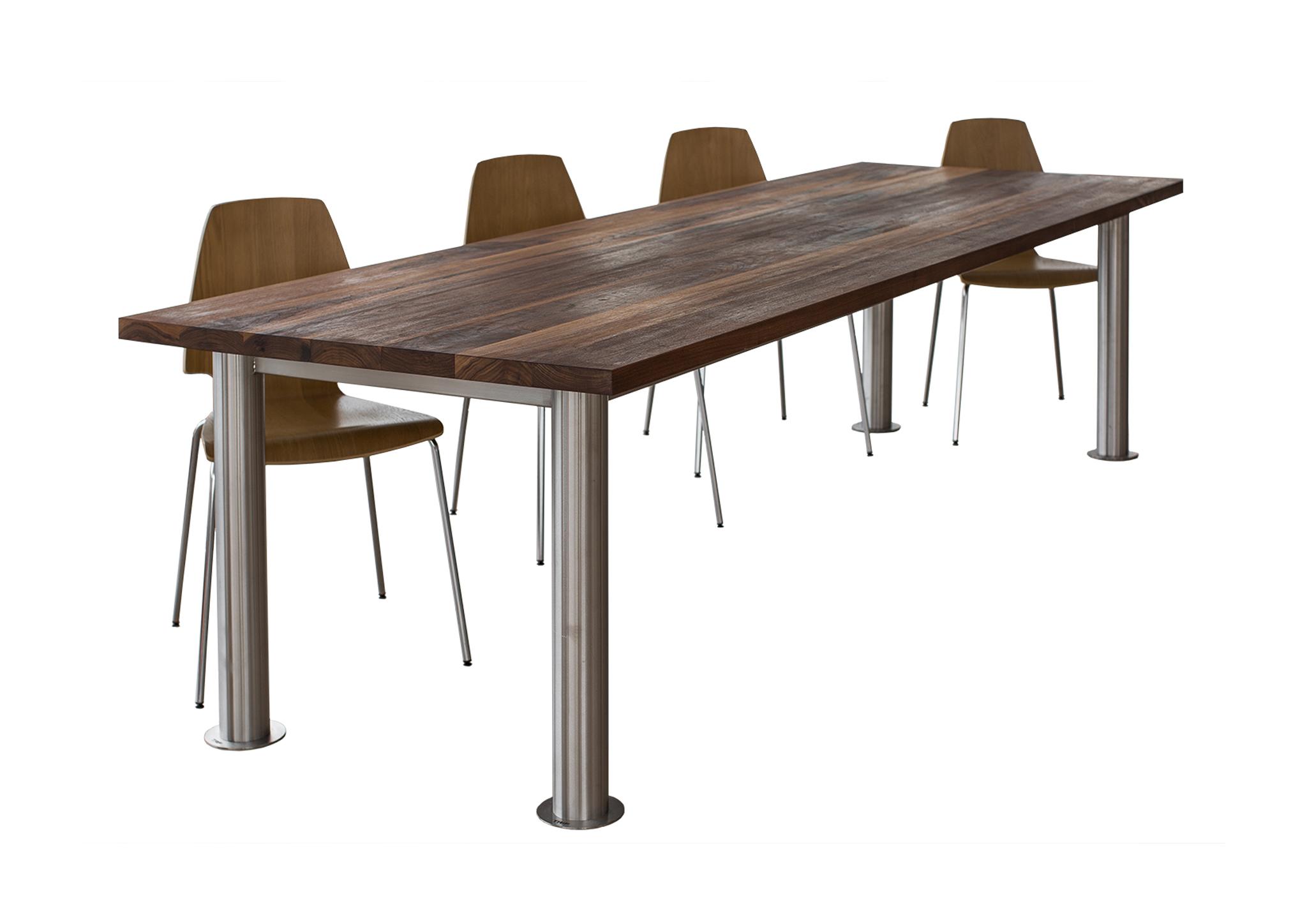 Большие офисные столы из массива дерева TRIF-MEBEL