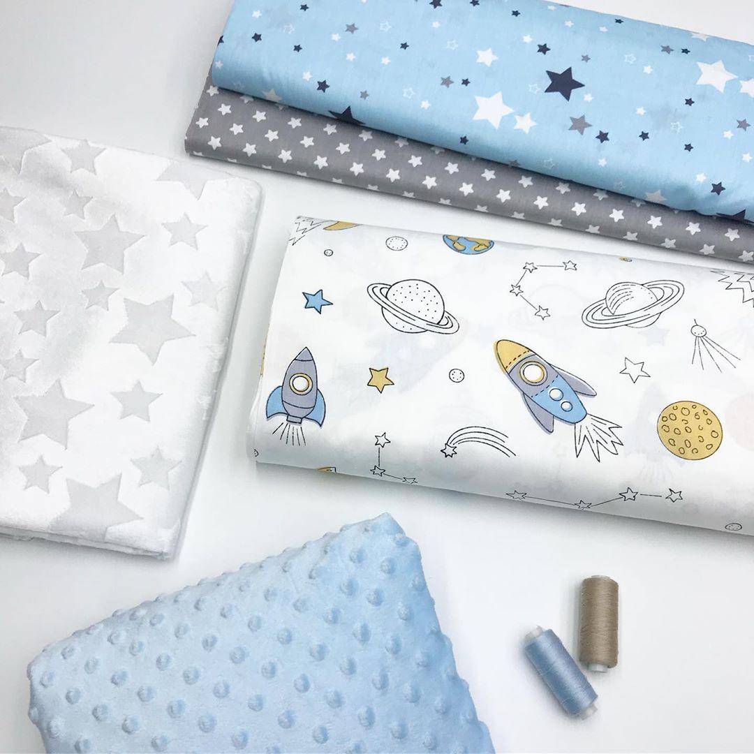 Купить ткани для бортиков мальчику