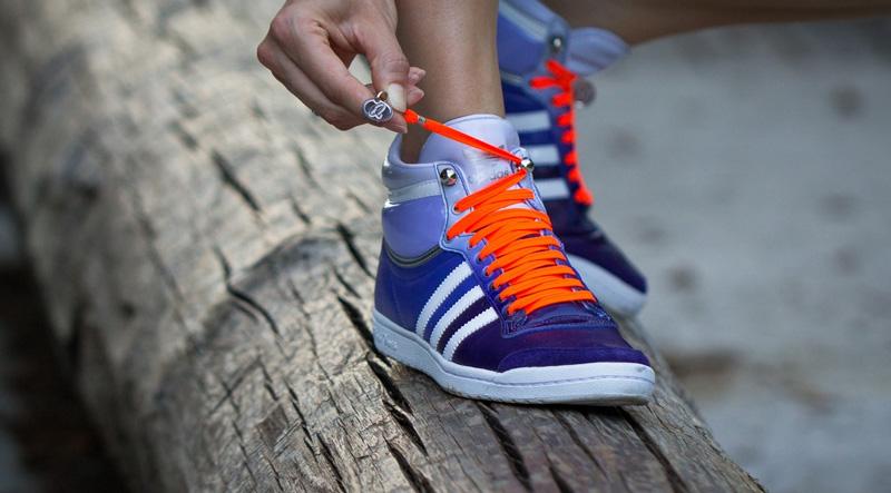 Спрятать шнурки в кроссовки -- 5