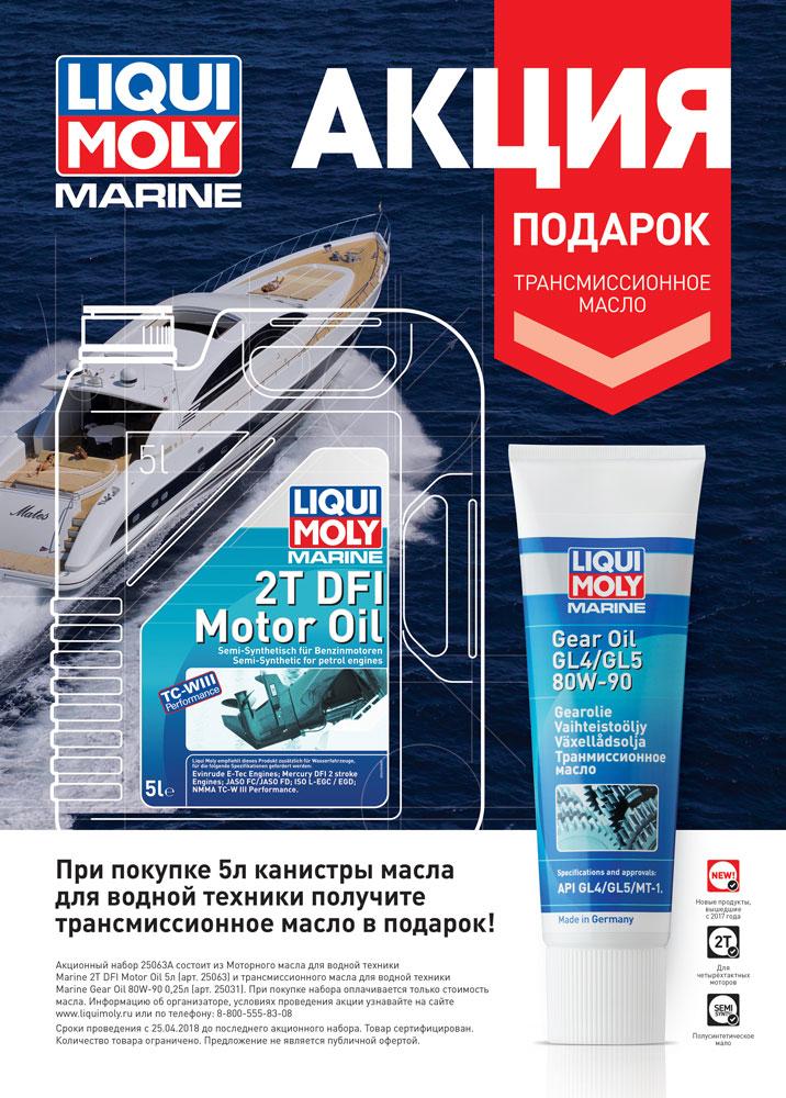 Акция для лодок Liqui moly