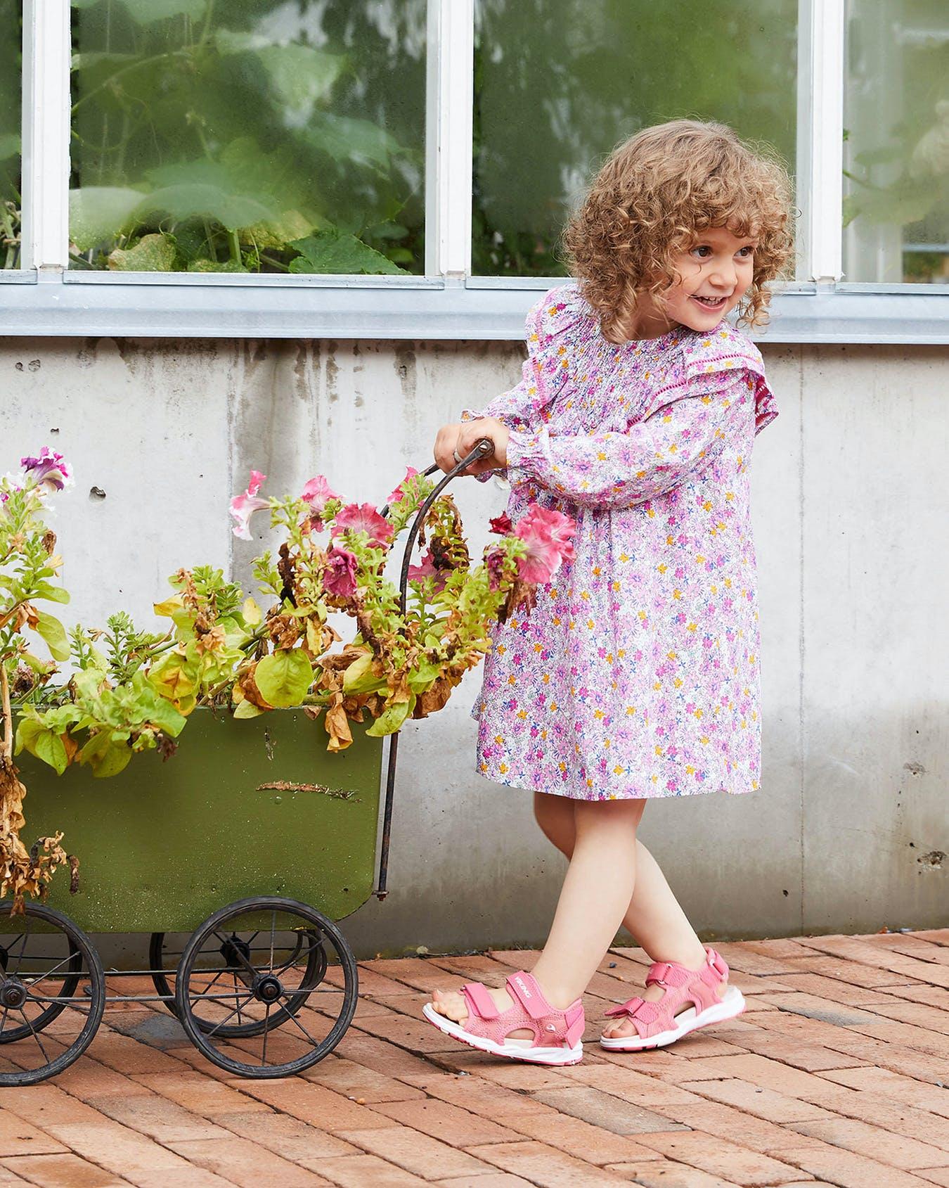 Сандалии Viking Anchor II Pink для девочек