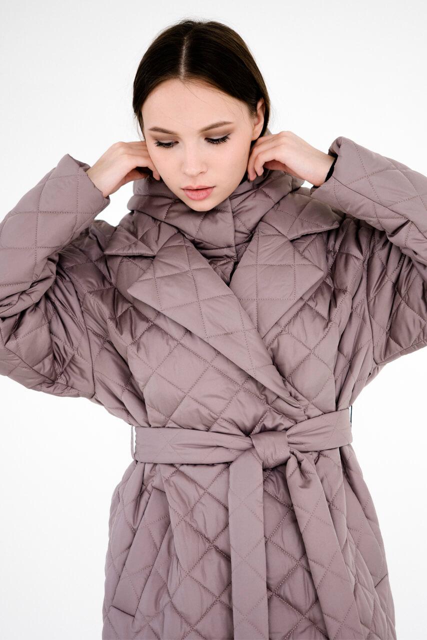 Стёганые пальто и жилеты