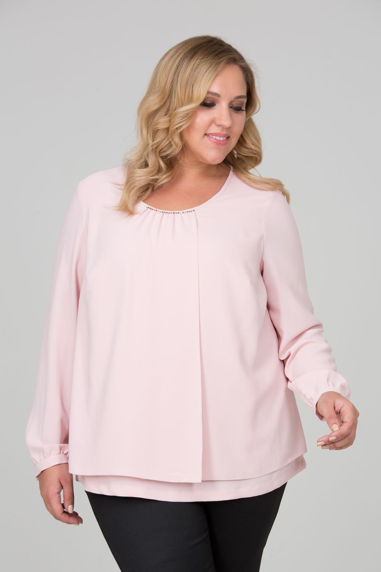 Блуза большого размера