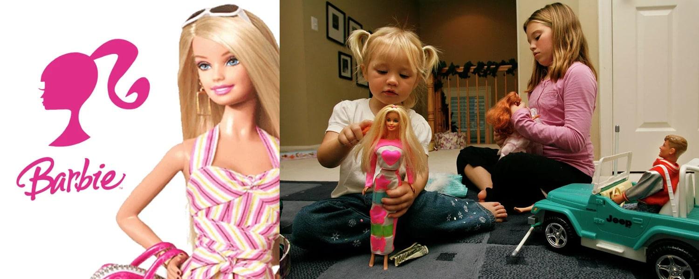 Барби – знаменитая героиня множества книг и игр для девочек