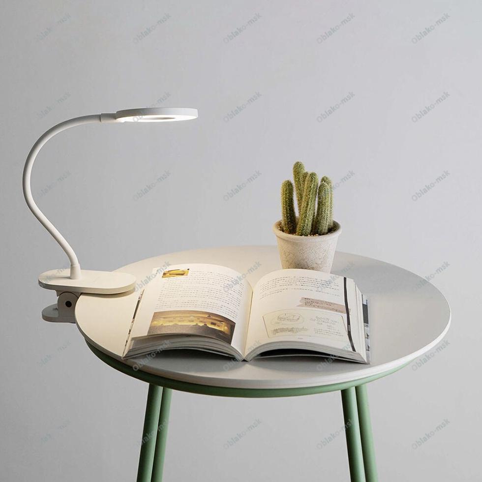 Настольная светодиодная лампа Yeelight LED Charging Clamping Lamp RU EAC