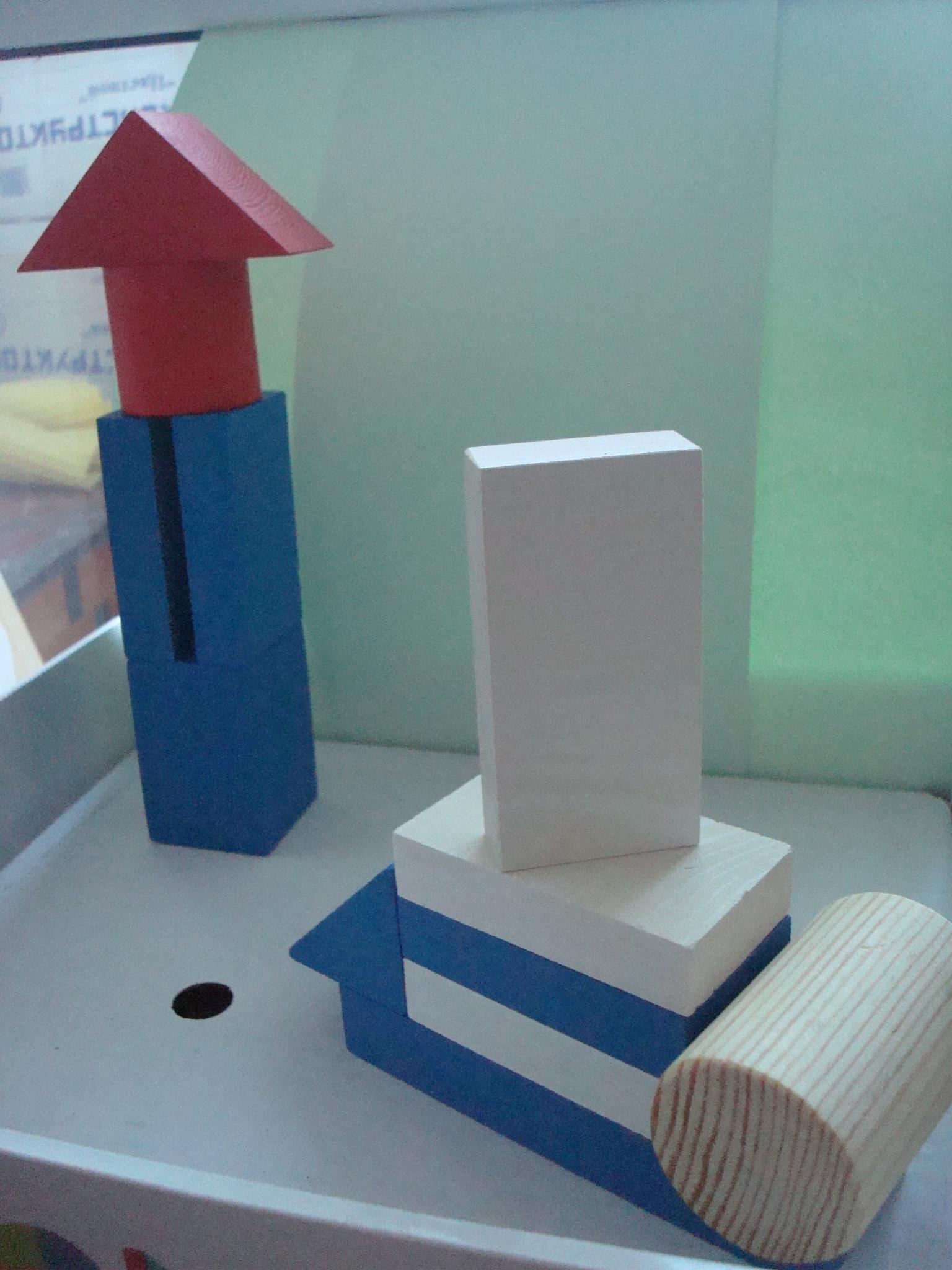 Схемы постройки из деревянного конструктора Томик