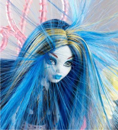 Наэлектризованные волосы Frankie Stein