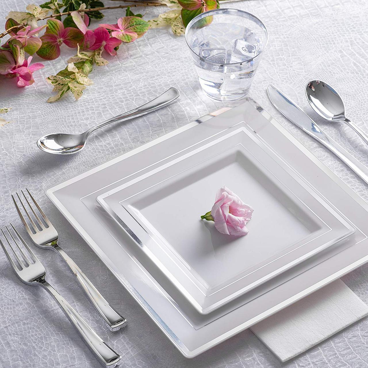 Большие наборы тарелок для кухни