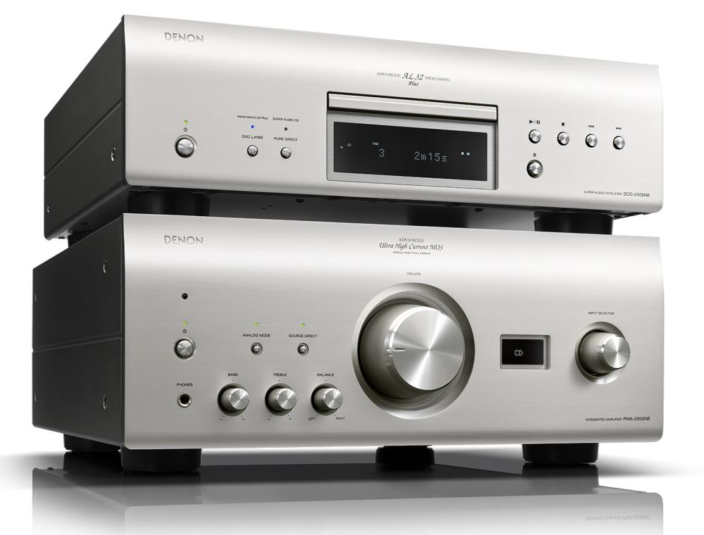 CD проигрыватель Denon DCD-1600NE плюс усилитель