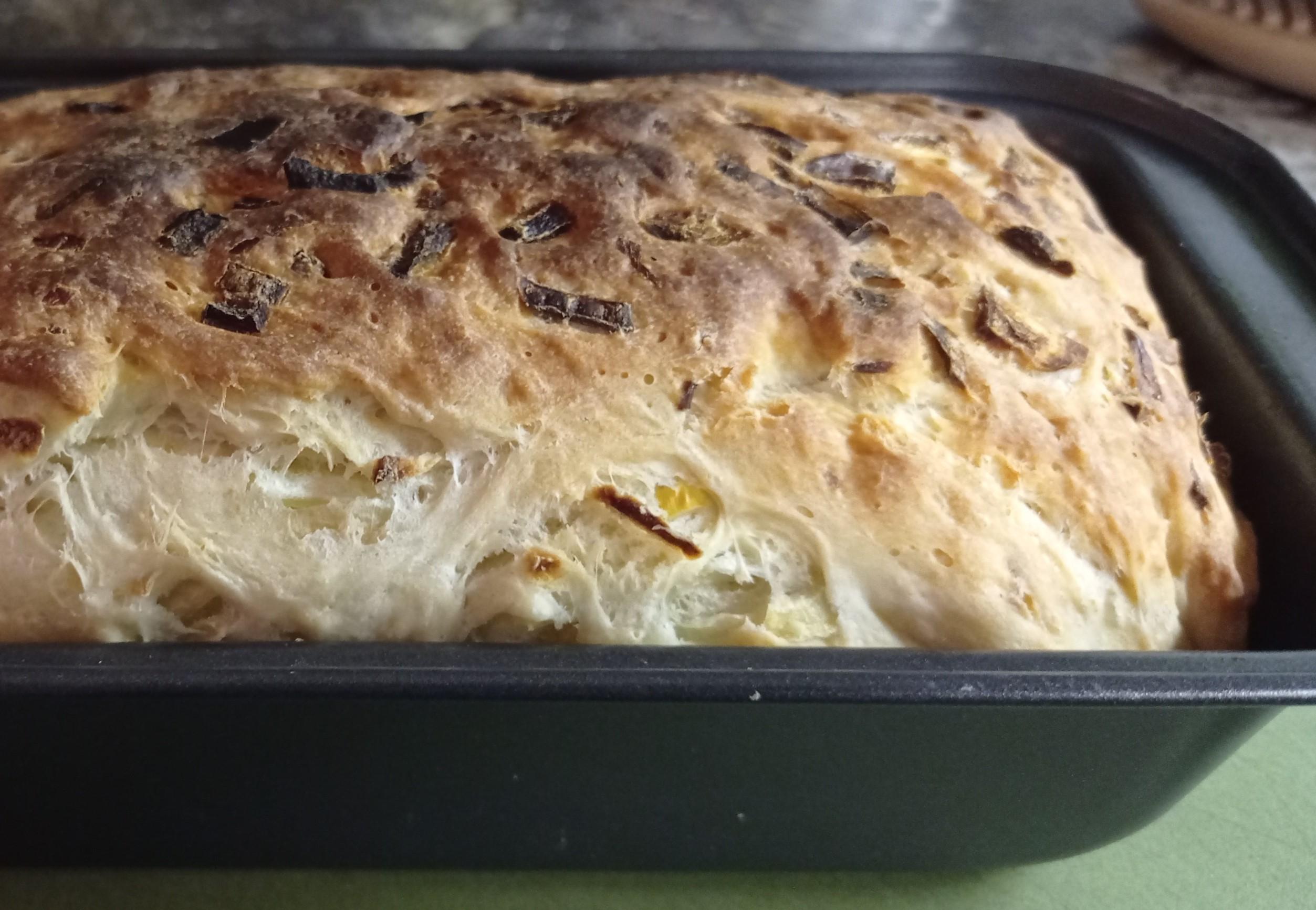 Домашний хлеб просто и быстро
