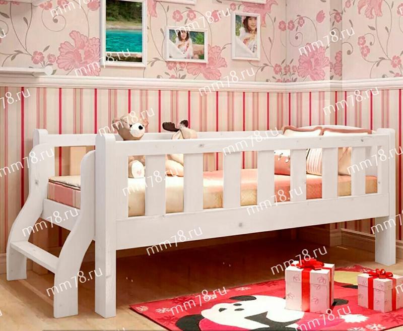 кровать из массива для детей от 2 лет