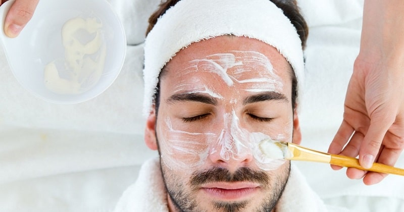 снять воспаление кожи лица для мужчин