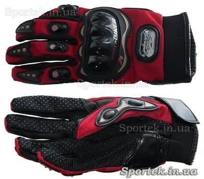 Велосипедні рукавички з посиленим захистом