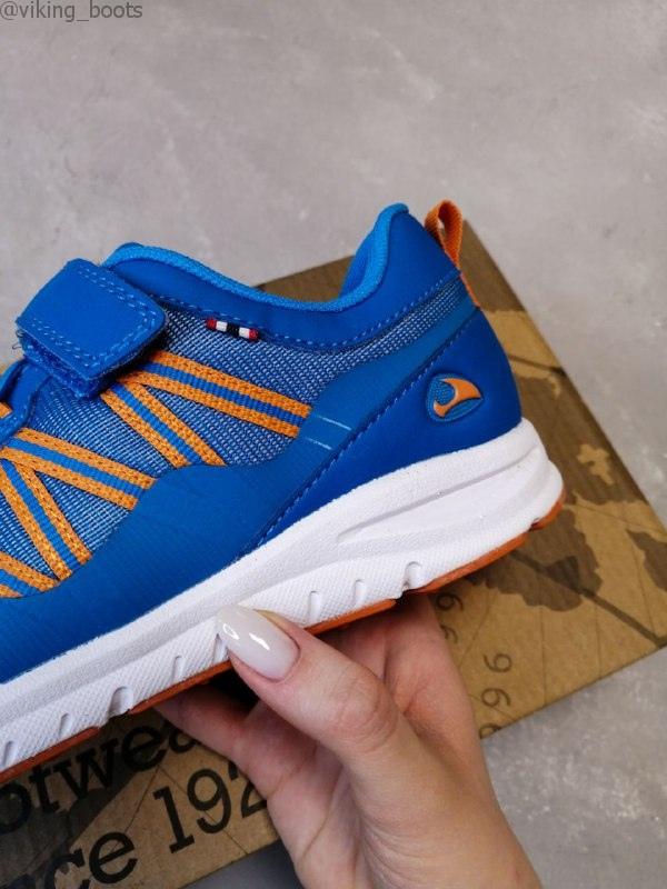 Кроссовки Viking Holmen Blue/Orange