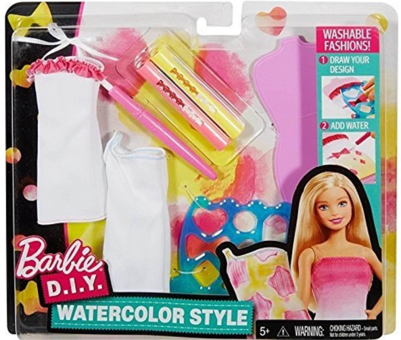 Набор одежды для кукол Барби серия - Акварель