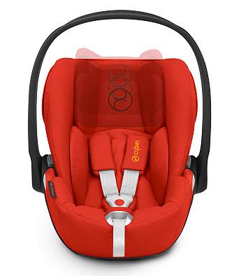 11-позиционный регулируемый по высоте подголовник - Для идеальной защиты, растущей вместе с малышом