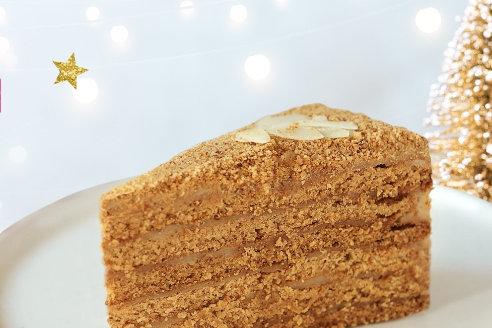 Торт Медовик без сахара без глютена под заказ