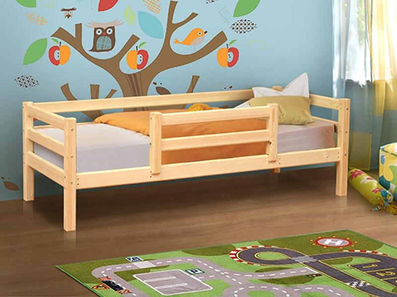 кровать из массива одноярусная