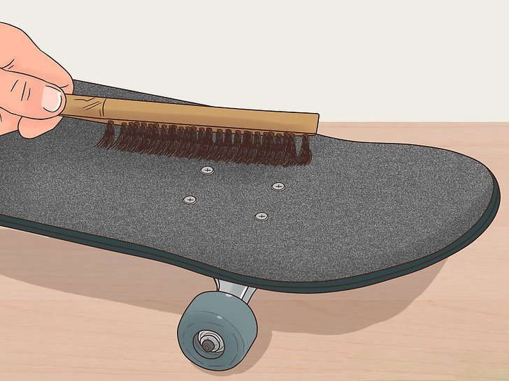 Щётка для чистки шкурки