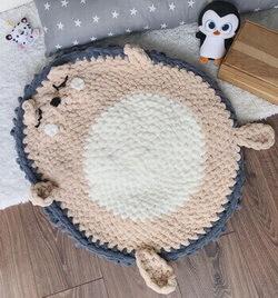 Детский коврик из Пуффи